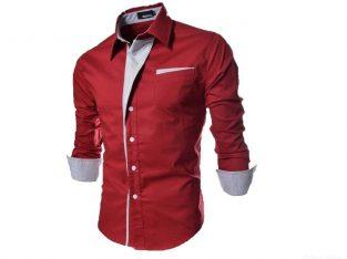 Cotton Shirt Solid Slim Fit