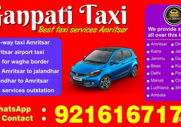Amritsar Best Taxi Service