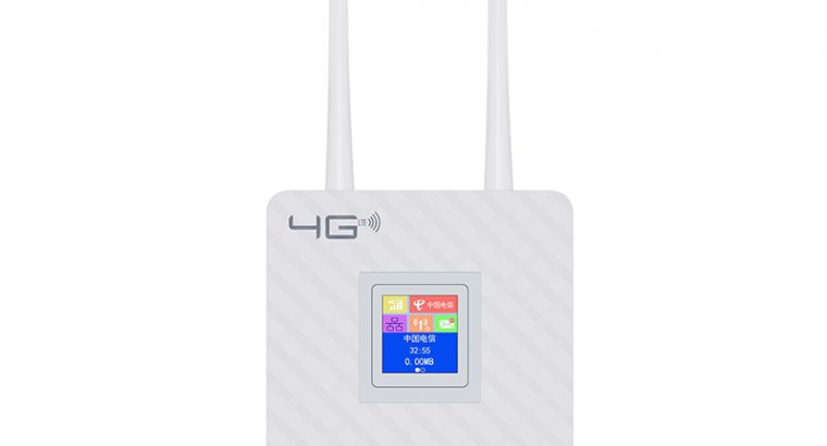 4G Mobile Wifi CPE Router Simcard Router With Lan